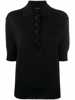 Escada рубашка-поло в рубчик 5033562