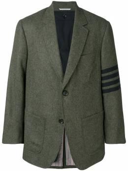 Thom Browne пиджак оверсайз с полосками 4-Bar MJC262A05385
