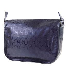 Gucci Purple GG Imprime PVC Messenger Bag 293963