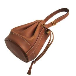 Hermes Brown Leather Market Courchevel Shoulder Bag 294794