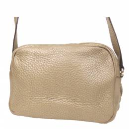 Gucci Gold Leather Soho Disco Crossbody Bag 293960