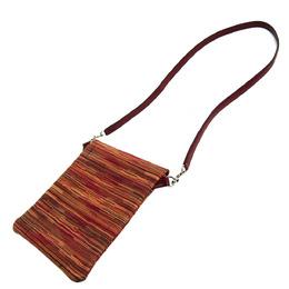 Hermes Rouge Vibrato Leather Pillow Shoulder Bag 294775