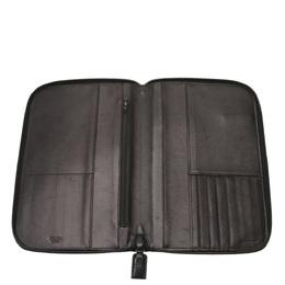 Prada Black Leather Organizer Wallet 284977