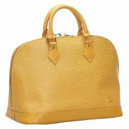 Louis Vuitton Yellow Epi Leather Alma PM Bag 276112