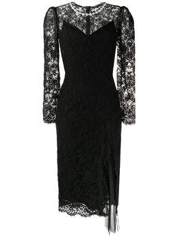 Ermanno Scervino декорированное платье с вышивкой D362Q365GUU