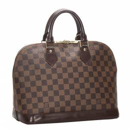 Louis Vuitton Damier Ebene Canvas Alma PM Bag 285108