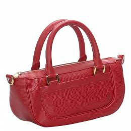 Louis Vuitton Red Epi Leather Dhanura PM Bag 285111