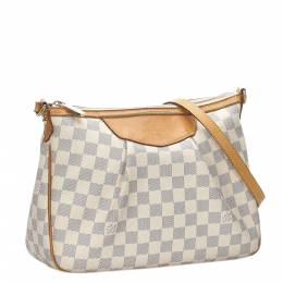 Louis Vuitton Damier Azur Canvas Siracusa PM Bag 281775