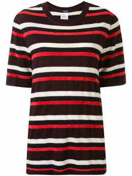 Chanel Pre-Owned полосатая футболка с круглым вырезом P44184K04577R8744