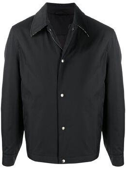 Salvatore Ferragamo куртка-рубашка на кнопках 709376