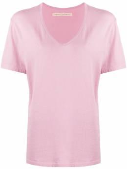 Raquel Allegra футболка оверсайз с V-образным вырезом Z021754