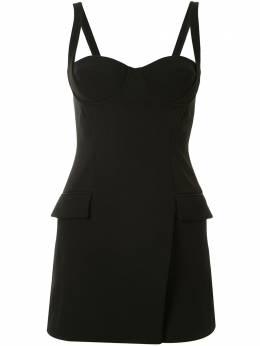 Dion Lee приталенное платье-бюстье длины мини A9706P20
