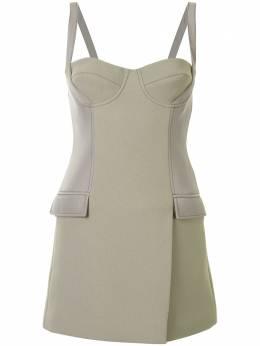Dion Lee платье-бюстье длины мини A9706P20