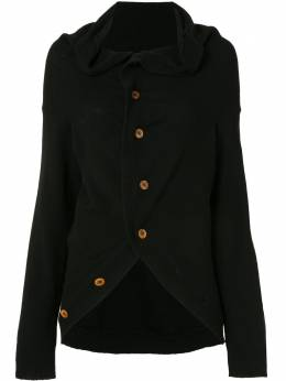 Comme Des Garcons Pre-Owned кардиган с драпировкой GGN022