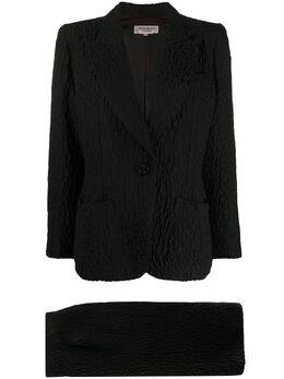 Yves Saint Laurent Pre-Owned костюм 1980-х годов YSLA350R