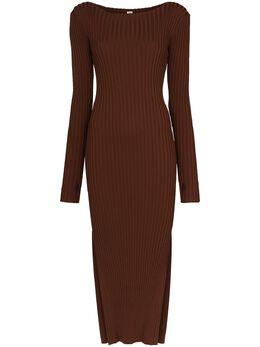 Toteme Orville ribbed midi dress 203606755