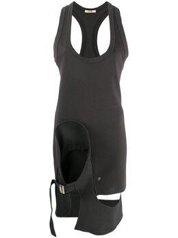 Zilver облегающее платье Tidy из джерси SS20WDR05