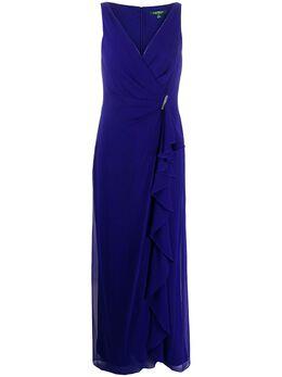 Lauren Ralph Lauren платье Hermina с оборками 253786020