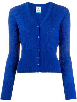 M Missoni ruched knit cardigan 2DM000882K004Z