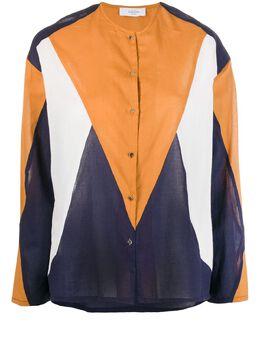Roseanna рубашка на пуговицах в стиле колор-блок S20VOILFERRY