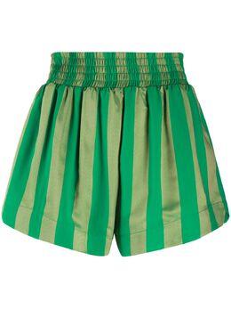 Roseanna полосатые шорты с завышенной талией DRAPEAUASHFORD