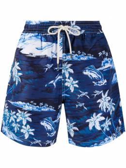 Polo Ralph Lauren плавки-шорты с принтом 710777331001