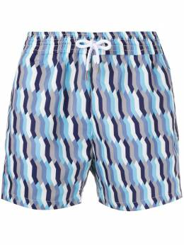 Frescobol Carioca плавки-шорты с графичным принтом 1711176
