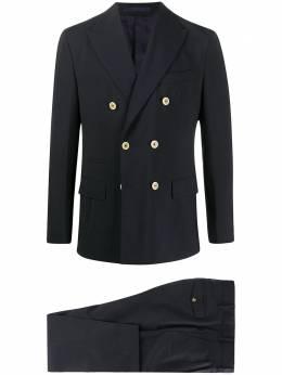 Eleventy костюм-двойка с двубортным пиджаком A70ABUA03TES0A053