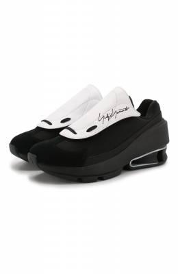 Комбинированные кроссовки Y-3 EH1359/W