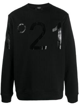 No. 21 толстовка с логотипом 20EN1M0E0334214