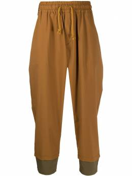 White Mountaineering брюки с низким шаговым швом WM2071417
