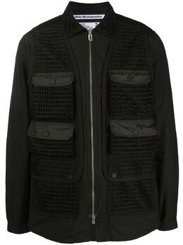 White Mountaineering многослойная куртка-рубашка WM2071101