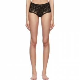 Stella McCartney Black Cornely Lace Bikini Bottoms 601184S2194