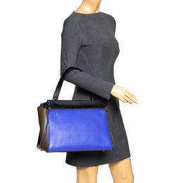 Celine Tri Color Leather Medium Edge Bag 295038