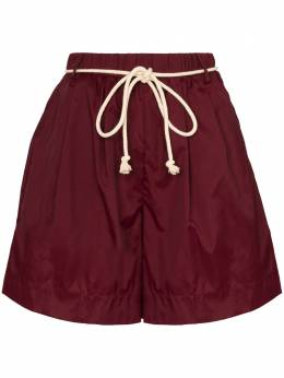 Staud Belted shell shorts 2146081TWPT