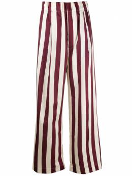 Jejia брюки широкого кроя в полоску 2839J1P003A205062
