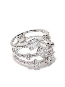 Yoko London кольцо Starlight из белого золота с бриллиантами QYR2102701