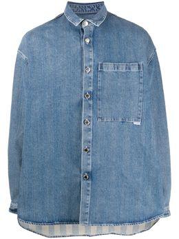 Sunnei джинсовая рубашка MS06CCR06
