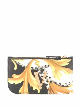 Versace кошелек с металлическим логотипом DP3H333VDV8BAR