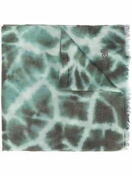 Roberto Cavalli шарф с принтом KYI04Q1IU47