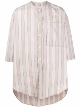 Sunnei длинная рубашка в полоску MS05BCR06