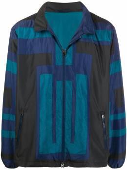 Etro легкая куртка со вставками 1S3099095