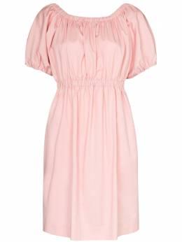 Molly Goddard присборенное платье мини Honey MGHS2006