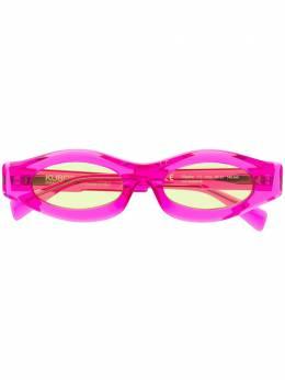 Kuboraum солнцезащитные очки в узкой овальной оправе KRS0Y5FCS00000AG