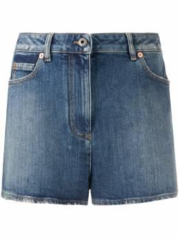 Valentino джинсовые шорты с логотипом VLogo TB0DD10E55D