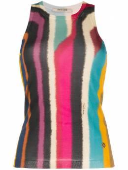 Roberto Cavalli рубашка с абстрактным принтом IWM652MSU25