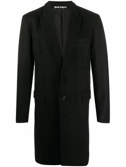 Palm Angels пальто с логотипом PMEA083E20FAB0011001