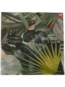 Roberto Cavalli шарф с узором KYI02Q1BZ02