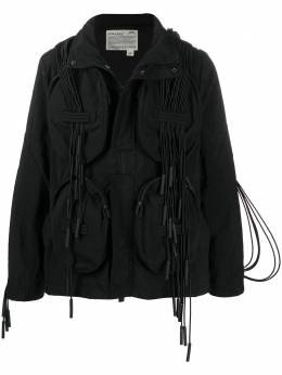 A-Cold-Wall* куртка с капюшоном и ремешками MO014WHLBL