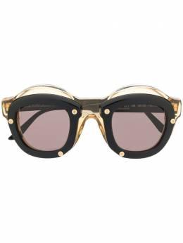 Kuboraum солнцезащитные очки в двойной круглой оправе KRS0W1HB000000OG